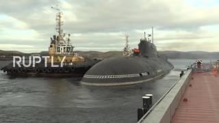 تدريبات على متن غواصة نووية روسية تحاكي ردا عن أي حادث إشعاعي