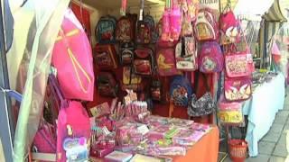 В Симферополе открылся школьный базар