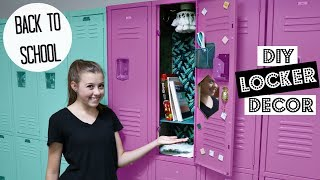 Back To School Diy Teen Locker Decor For High School!
