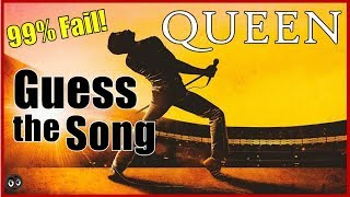Queen Name the Song Trivia Hard - Bohemian Rhapsody Challenge - Song Quiz