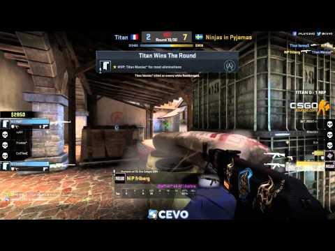 NiP vs Titan - CEVO Season 7 - map 2