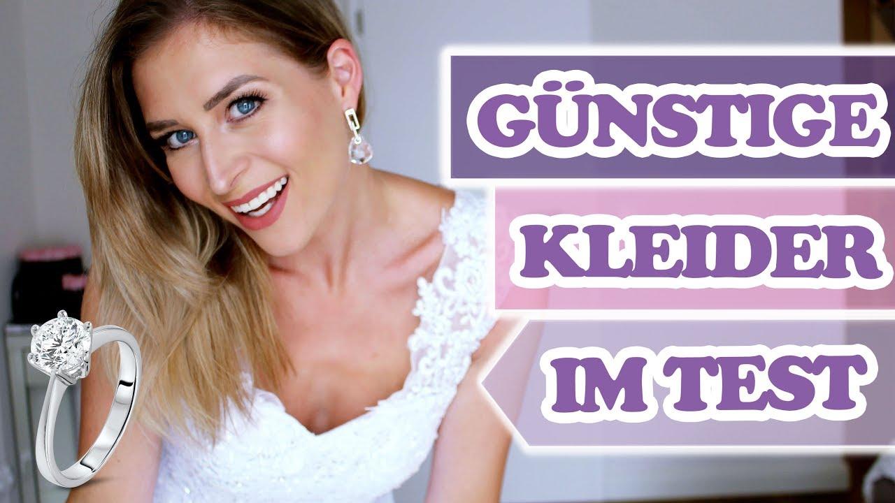 Können günstige Brautkleider gut aussehen? + Ich lüfte mein ...