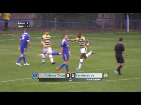 Habib Cissoko goal vs andover