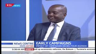 Impact of early campaigns on Big four Agenda