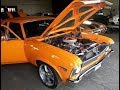 72 Chevy Nova SS get new oil, plugs and air cleaner stud. Road to the Road