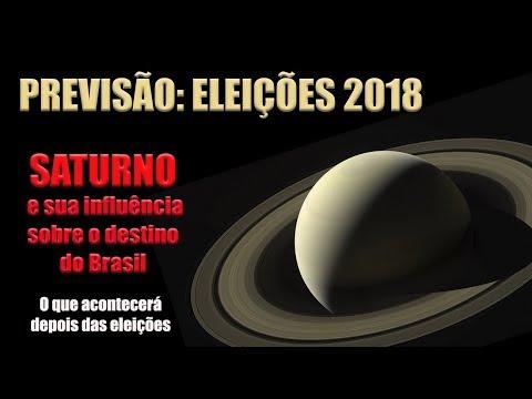 PREVISÃO: ELEIÇÕES 2018  SATURNO E SUA INFLUÊNCIA SOBRE O DESTINO DO BRASIL