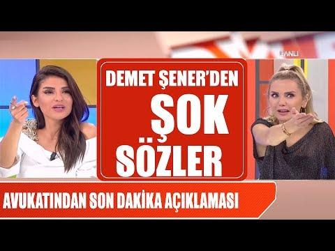 Demet Şener'den zehir zemberek sözler! Şener'in avukatından son dakika açıklaması