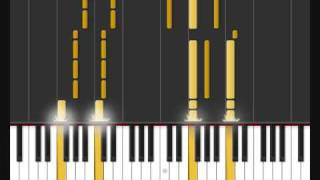 How to play Viva La Vida on piano - 100% speed