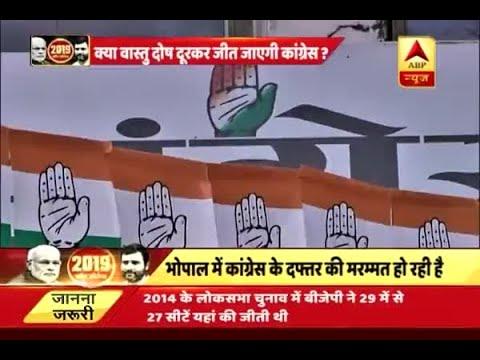 Congress brings changes in Madhya Pradesh office before assembly elections