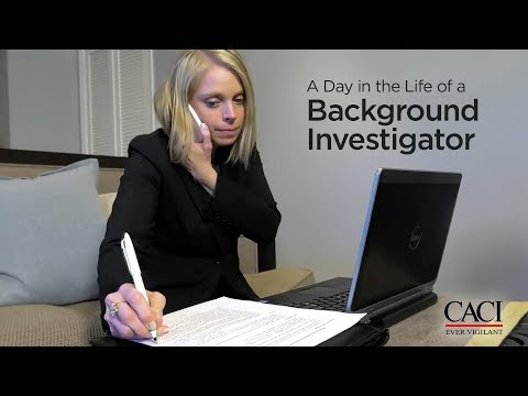 A Day in the Life of a CACI Background Investigator