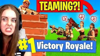 Cheaters CAUGHT in Fortnite! Teaming in Solos?