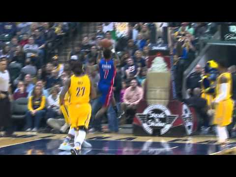 Detroit Pistons vs Indiana Pacers   February 6, 2016   NBA 2015-16 Season