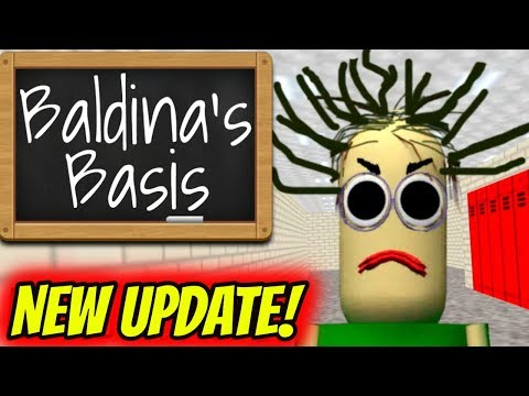 NEW UPDATE Baldina's Basis in Education Literary Grammar (V 0.0.2) | Baldis Basics Spin Off Game