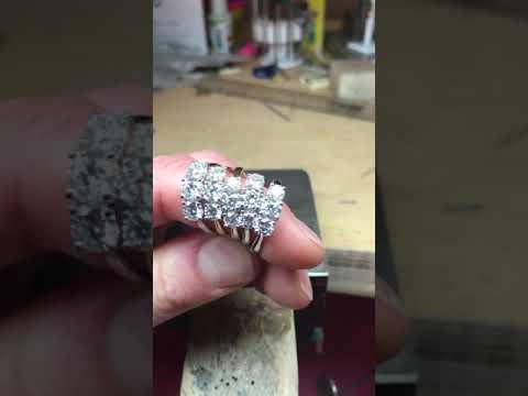 Bespoke Trilogy Diamond Engagement Rings | Campbell Jewellers Dublin