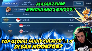 2 MINGGU GA MAIN, ZXUAN MASIH TOP GLOBAL 1 FANNY SEASON 16! NANI!!