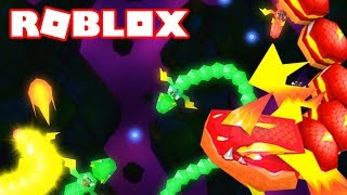 DRAGONS. IO?! A NEW SLITHER. IO GAME ON ROBLOX / Roblox Episodes / Dragon Riders