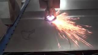 Плазменная резка металла на станке с ЧПУ(Плазменная резка современный вид обработки металла различных толщин. С помощью плазмы можно резать черный,..., 2013-05-21T15:42:08.000Z)