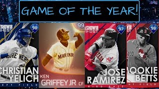 GAME OF THE YEAR VS A TOP PLAYER IN MLB THE SHOW 18!