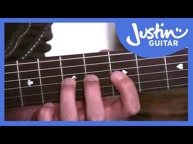 The C Chord | JustinGuitar.com