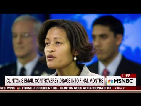 MSNBC's O'Donnell: Really Strange Cheryl Mills Was In Clinto