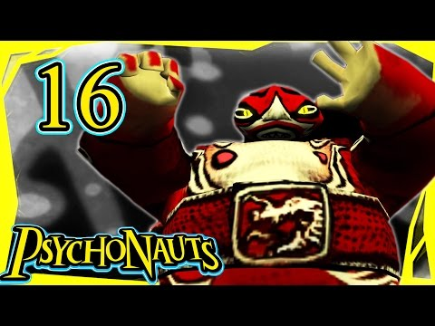 Let's Play Psychonauts Part 16 - Black Velvetopia [Gameplay/Walkthrough]