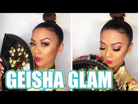 GEISHA INSPIRED GLAM TUTORIAL! | Liane V