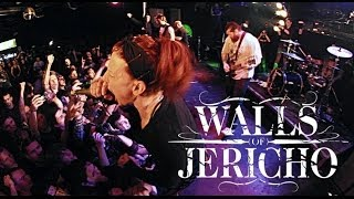 Walls Of Jericho @ Moscow 2013/12/17
