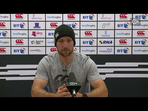 Ospreys TV: Richard Fussell on Cardiff Blues in Anglo Welsh Cup