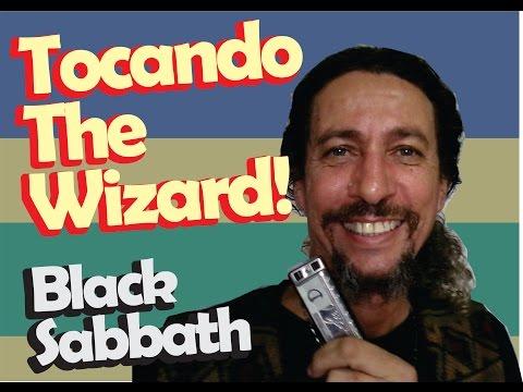 como tocar the wizard Black Sabbath   Harmônica - [ Gaita de boca ]