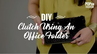 Turn your boring office holder into a stunning clutch and get ready...