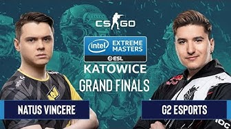CS:GO - G2 Esports vs. Natus Vincere [Mirage] Map 3 - Grand Finals - IEM Katowice 2020