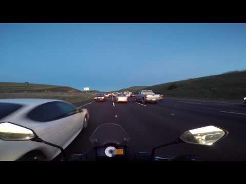 Lane Splitting through I-580 East
