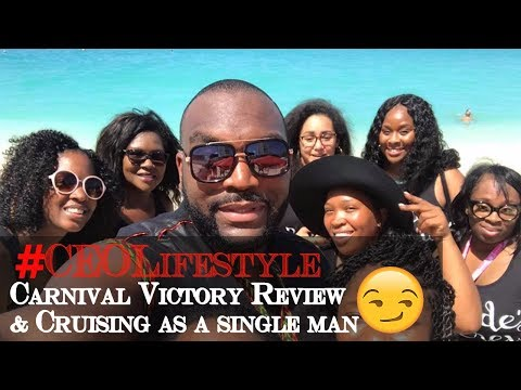 #CEOLifestyle Vlog  to the Bahamas   Carnival Victory Review & tips on cruising  alone.