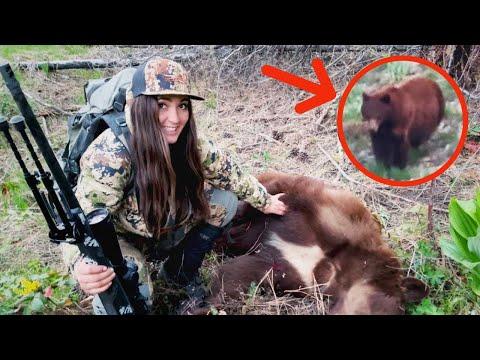 MY FIRST SPOT AND STALK BEAR!!! Public Land Mountain Black Bear Hunt (He's BIG!!)