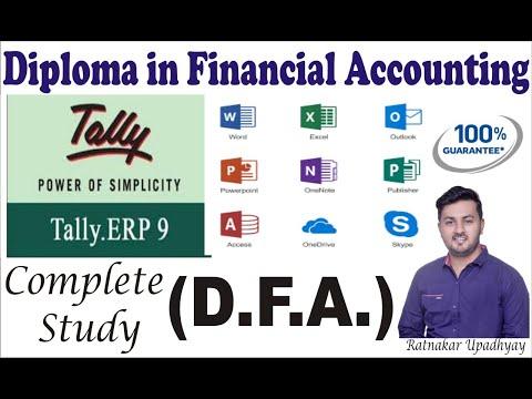 Right Time to choose Career | Advance Diploma in Financial Accounting | DFA|ADFA| RATNAKAR UPADHYAY