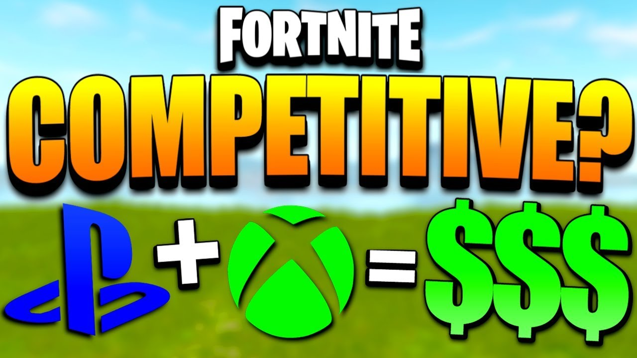 Fortnite Gamebattles - Will Fortnite Tournaments Happen on PS4 and Xbox  One? (Fortnite Competitive)
