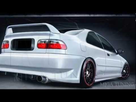 Honda Civic - Tuning - Body kits