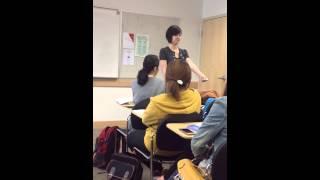 natalie teaching korean