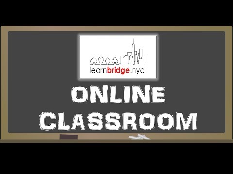 LearnBridge.nyc Online Lesson