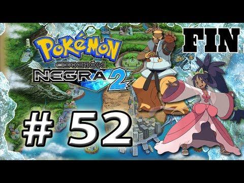 """Pokémon Negro 2 por Muerte17 (Parte 52 - Liga Pokémon """"Lotto y la Campeona Iris - FIN ^^"""")"""