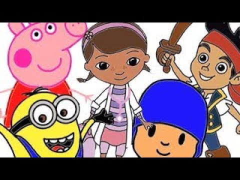 Compilation de comment dessiner minions peppa pig dora l 39 exploratrice pocoyo et disney youtube - Dessiner dora ...