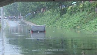 Heavy Rain Hits Various Parts of China