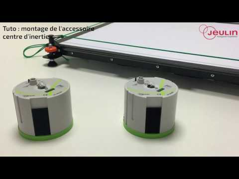 Tutoriel de montage de l'accessoire centre d'inertie - Jeulin TV - Jeulin
