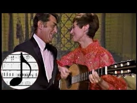 "Transcription || ""Samba de Uma Nota Só"" (One Note Samba) - Dean Martin & Caterina Valente"