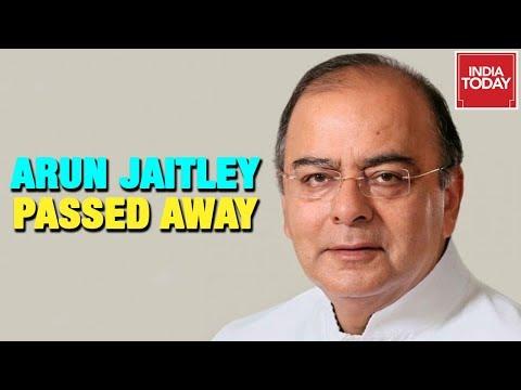 BJP Veteran, Arun Jaitley Passes Away At 66