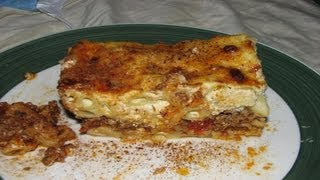 Pastichio Pastitsio Greek Lasagna - Cooking With Agent96 E#2