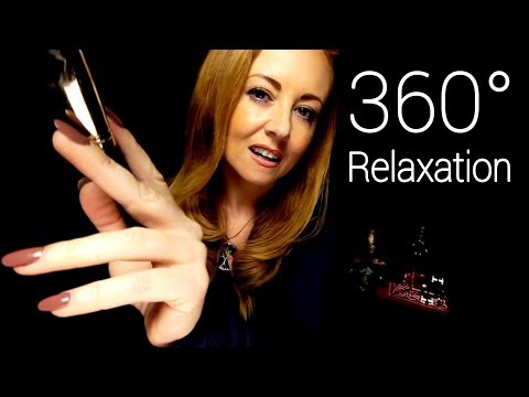 360° ASMR Sound Therapy | Binaural | Massage, Brushing, Singing Bowl