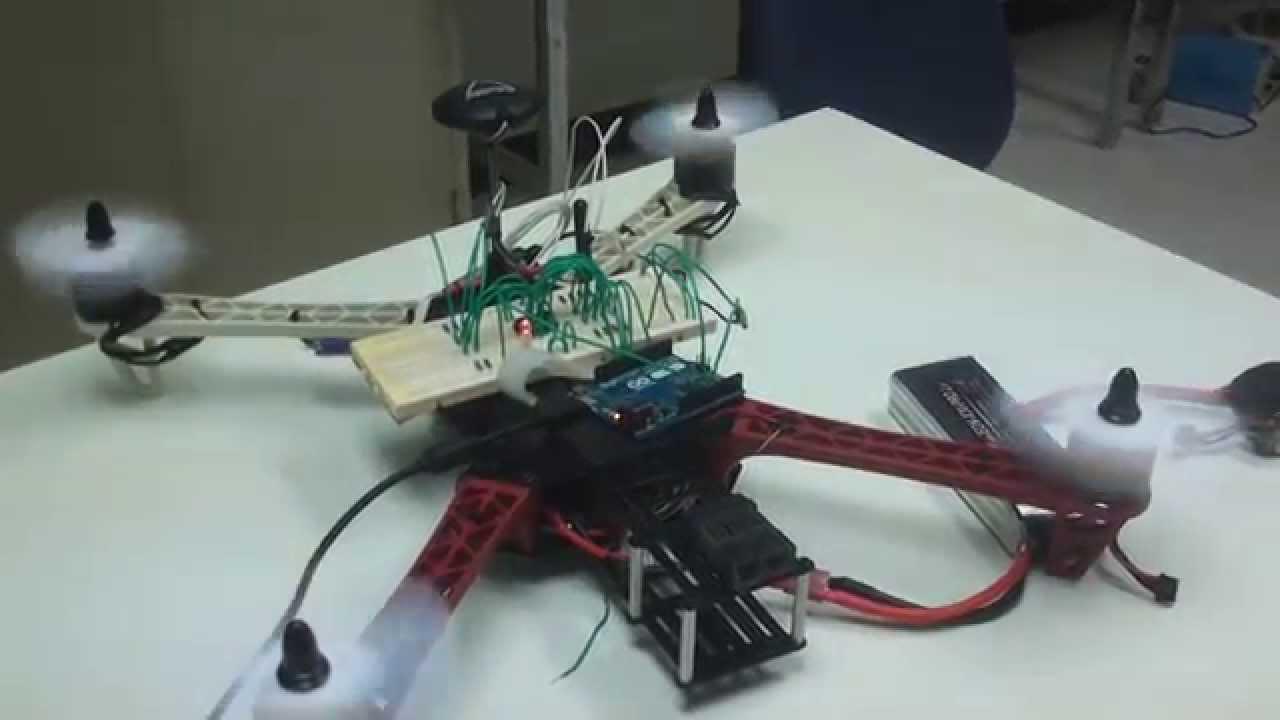 Leap motion with arduino leonardo to control quadrotor
