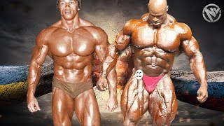 RONNIE COLEMAN ✘ ARNOLD SCHWARZENEGGER - BATTLE OF THE G.O.A.T.S
