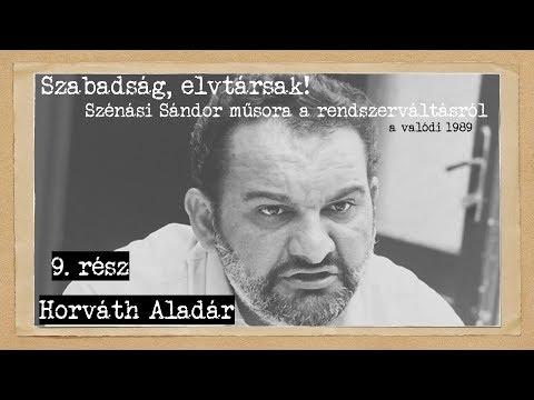 30 éves A Rendszerváltás #9: Horváth Aladár